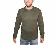 Pull Jack & Jones 12143333 Pullover col rond vert olive pour homme