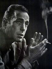 "Vtg 1984 National Portrait Gallery Exhibition Poster ""KARSH"" Humprey Bogart NOS!"