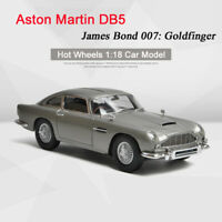 Hot Wheels 1:18 Model Collection Aston Martin DB5 007 GOLDFINGER JAMES BOND Car