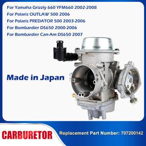 Carburetor Polaris Predator Outlaw For YAMAHA GRIZZLY 660 YFM660 2002-2008 500