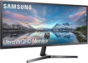 """Samsung LS34J550WQRXXU 34"""" SJ55 Ultra Wide 1440p Monitor - HDMI, DISPLAY"""