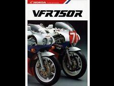 HONDA VFR750R RC30 VINTAGE MOTORCYCLE MOTORBIKE POSTER BROCHURE ADVERT A3!!