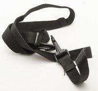 Kameragurt Tragegurt Trageriemen carrying strap in Schwarz mit Karabinerhaken