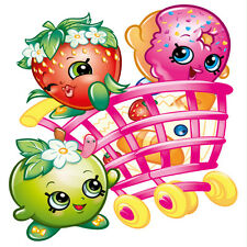 Shopkins Totally Movable Wall Sticker Decal Remove & Reuse Nursey Home Decor