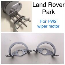 Pair Of Series 1 2 2a Lucas FW2 Windscreen Wiper Motor Steel Park Land Rover Kit