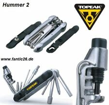 Topeak bicicleta Tool langosta 2 multi herramienta bike kettennieter TORX desmontadoras