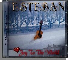 Esteban - Joy to the World - New 2001 Guitar, Instrumental Christmas Music CD!
