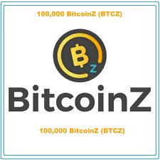 (Bitcoinz) CRYPTO MINING-CONTRACT (100,000 BTCZ), Crypto Currency