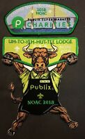 NEW OA LODGE 89 UH-TO-YEH-HUT-TEE GREATER TAMPA BAY CSP 2018 NOAC PUBLIX 3-PATCH