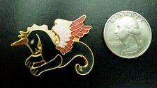 Mystical Mythical Fantasy Unicorn Pegasus Winged Horse Enamel  Pin /Brooch