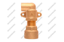 Gas Cooker Connection Point Elbow Bayonet Connector for Hose Pipe Flex Fitting L