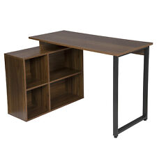Arbeitstisch Schreibtisch Bürotisch Eckschreibtisch MDF Computertisch mit Regal