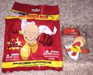 One Punch Man Saitama Backpack Hangers Keychain Figure Anime Manga