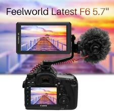 "Feelworld F6 5.7"" IPS 4K HDMI Camera Video Monitor For Sony A9 A7III II R ILCE-9"