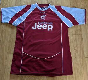 Rare Scunthorpe United Home Shirt 2005-07 Peter Beagrie #14 Large Carlotti