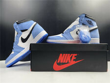 "AIR JORDAN 1 RETRO HIGH OG ""UNIVERSITY BLUE"" 555088-134 SHIP NOW"