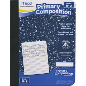 Mead Writing Fundamentals Primary Composition Notebook
