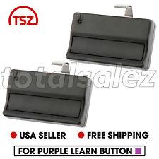 2 For Sears Craftsman 139.53753 1 button Garage Door Opener Remote 315mhz 371LM