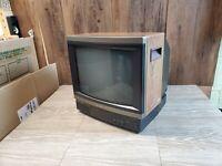 "Vintage SONY Model KV-1393R Trinitron Color CRT TV 13"" Wood Grain  *Local Pickup"