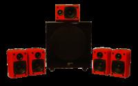 Audio Pro All Room Speaker System - like new - designer surround sound system