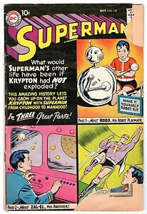 Superman #132, Good - Very Good Condition