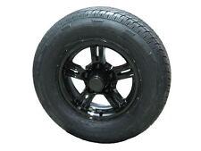 AM02ABR 175/80R13 LRD Radial Trailer Tire on 5 Lug Aluminum Trailer Wheel bbb
