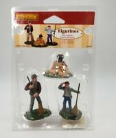 NIB 2005 Lemax Village SILLY SURPRISE Set of 3 Polyresin Figures #52043