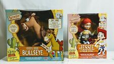 Toy Story Signature Collection Woody's Roundup Deluxe Talking Bullseye + Jessie