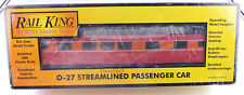 MTH Rail King 30-6065 O-27 Streamlined Vista Dome Southern Pacific NEW