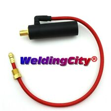 WeldingCity® Cable Adapter Dinse-35 Water Tig Welding Torch 18/20 (195377) | Usa