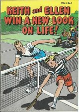 KEITH & ELLEN WIN A NEW LOOK ON LIFE 1 VF 1966 RARE GIVEAWAY PROMO DIABETES LILY
