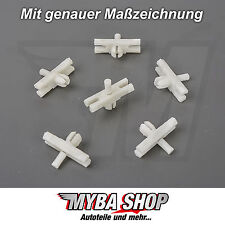 15x STRIP CLAMP CLIP VW GOLF I CABRIO JETTA I SCIROCCO POLO 171853585 #