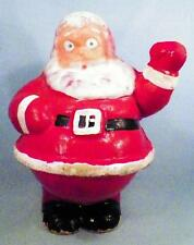 Vintage Santa Claus Candy Container Christmas Decoration Pressed Cardboard #1