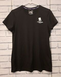 Under Armour Women's Size M Athletic Top Wounded Warrior Project Black White