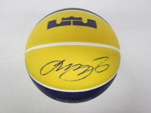 LeBron James Autographed Signed LA Lakers  LOGO Basketball w/COA