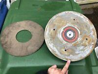 Rek-O-Kut Metal Platter w/ Rubber Mat - Rondine L-34 Turntable Parts #1