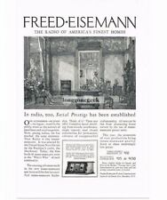 1926 Freed-Eisemann Radio Corp. Model C-40 & 60 art Vtg Print Ad