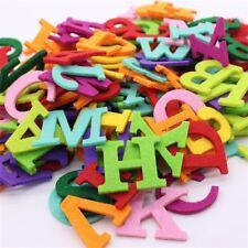 26Pcs Alphabet Felt Cloth Letter Felt Fabric Polyester Fabrics Needlework
