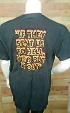 "Firefighters ""if they sent us to hell we would put it out"" Shirt Men's Size Xl"