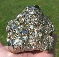 PYRITE CUBE Cluster from Peru A Shimmering Crystal Fools Gold For Sale