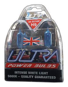 Ultra H9 12v 65w 5000K Xenon Power Bulbs