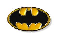 Yellow and Black Batman Lapel Pin