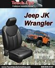 2013-2018 Jeep Wrangler Jk 4 Door New Black Leather Seat Covers Kit Replacement