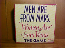 """""""MEN ARE FROM MARS, WOMEN ARE FROM VENUS"""" Board Game by Endless Games 2002 - NEW"""