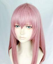 A Silent Voice Nishimiya Shouko syouko Rosa Pink Cosplay Kostüm Lang Perücke wig