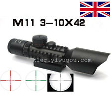 1pc 3-10x42 Scope For Accurate Rifle Aiming Compact Sight ScopeReticle