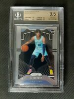 💎 2019-20 Panini Prizm Ja Morant Base BGS 9.5 True Gem Mint RC 💎 10 CENTERING!