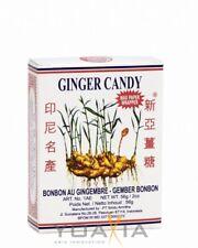 (2,13€/100g) [ 56g ] SINA GINGER CANDY / Ingwerbonbons / Ingwer Bonbons