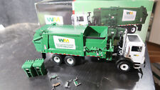 1st First Gear BOXED 1:34 Waste Management Side Load Refuse Truck Mack trucks