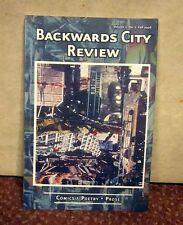 BACKWARDS CITY REVIEW poetry Fall 2006 Greensboro comics South Carolina prose